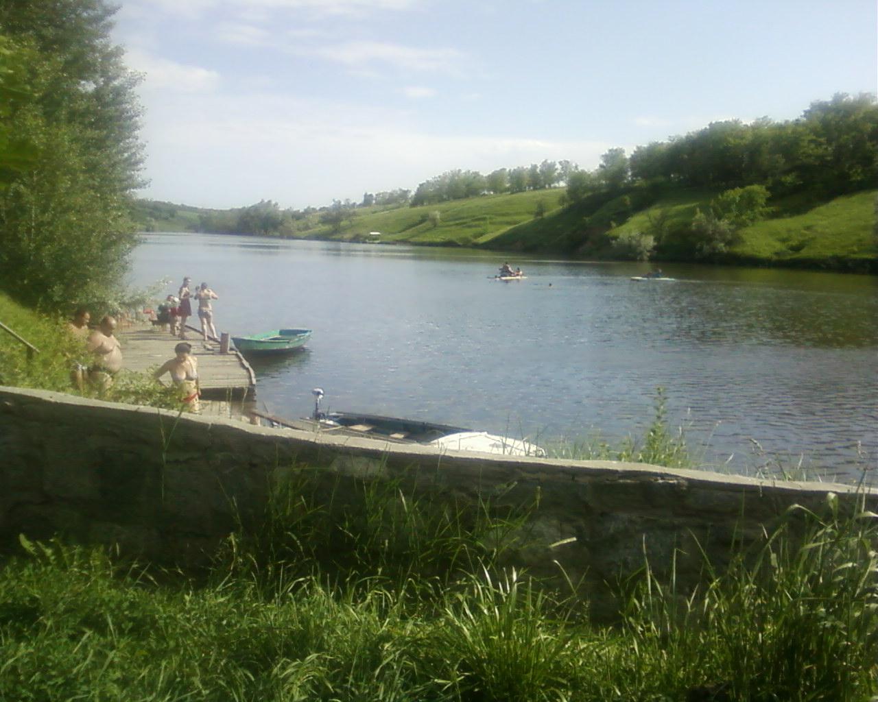 клевое место рыбалка днепропетровская область